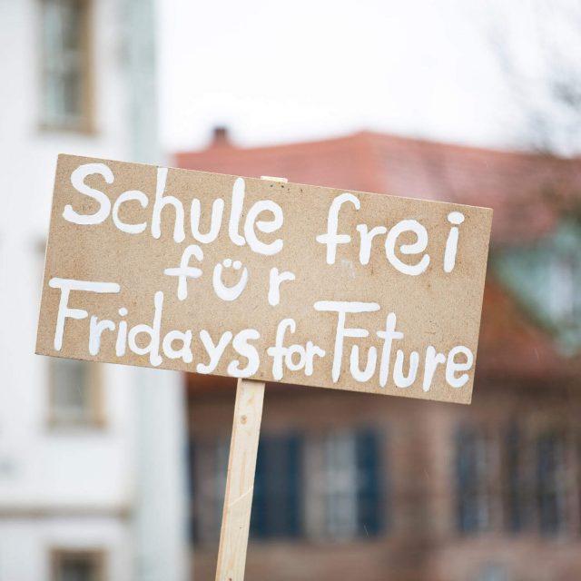 Schule frei für Fridays for Future