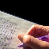Schreibschrift in der Schule